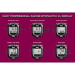HUDY PROFFESIONAL RACING STOPWATCH XL DISPLAY