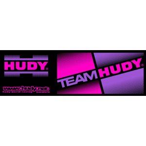 HUDY TEAM STICKER - BLACK