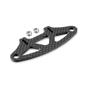 GRAPHITE BUMPER UPPER HOLDER FOR ADJUSTABLE BODY MOUNTS 2.5MM