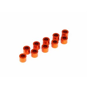 ALU SHIM 3x5x4.0MM - ORANGE (10)