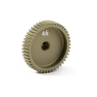 NARROW PINION GEAR ALU HARD COATED 46T / 64