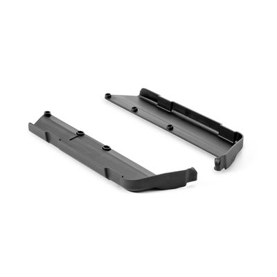 XB8 CHASSIS SIDE GUARDS L+R W / OUT RIB