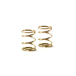 SPRING 4.25 COILS 3.6x6x.4MM C=1.5 GOLD- SOFT (2)