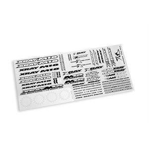 XRAY M18 STICKER FOR BODY - WHITE