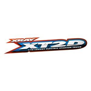 XRAY XT2D'21 - 2WD 1 / 10 ELECTRIC STADIUM TRUCK